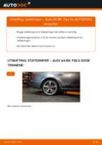 DIY-manual for utskifting av Støtdemper i AUDI Q5 2020