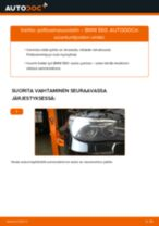 Kuinka vaihtaa polttoainesuodatin BMW E60-autoon – vaihto-ohje
