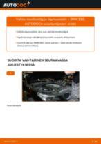 Kuinka vaihtaa moottoriöljy ja öljynsuodatin BMW E60-autoon – vaihto-ohje