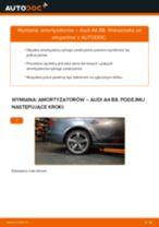 Jak zmienić Amortyzatory AUDI A4: darmowy pdf