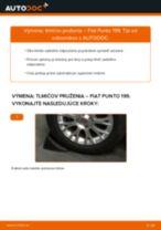 Ako vymeniť zadné a predné Tlmiče perovania na FIAT GRANDE PUNTO (199) - manuály online