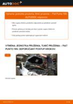 Vymeniť Tlmiče perovania na aute FIAT GRANDE PUNTO (199) - tipy a triky