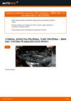 Ako vymeniť a regulovať Tlmiče perovania BMW 5 SERIES: sprievodca pdf