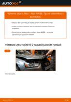 Krok za krokom příručka na opravu Audi A4 b7