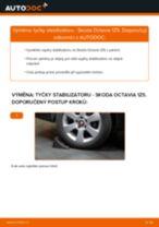 Výměna Vzpěra stabilizátoru SKODA OCTAVIA: zdarma pdf