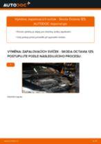 PDF návod na výměnu: Zapalovaci svicka SKODA Octavia II Combi (1Z5)