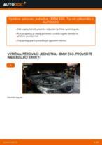 Jak vyměnit přední pérovací jednotka na BMW E60 – návod k výměně