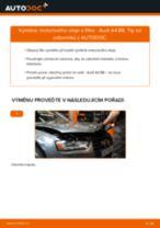 Podrobné PDF tutoriály, jak vyměnit Olejovy filtr na autě AUDI A4 (8K2, B8)