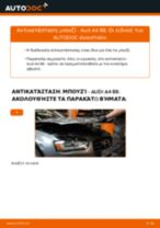 PDF εγχειρίδιο αντικατάστασης: Μπουζί AUDI A4 Sedan (8K2, B8)