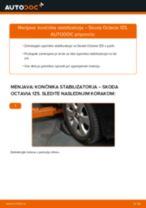 Brezplačna spletna navodila kako obnoviti Šipka stabilizatorja SKODA OCTAVIA Combi (1Z5)