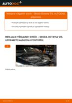 Kdaj zamenjati Vzigalna svecka SKODA OCTAVIA Combi (1Z5): pdf navodila