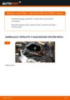 Zracni filter FIAT GRANDE PUNTO (199) | PDF vodič za zamenjavo