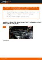 Kako zamenjati avtodel vzmetna noga (blazilnik) spredaj na avtu BMW E60 – vodnik menjave