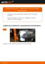 Kako zamenjati avtodel filter goriva na avtu BMW E60 – vodnik menjave