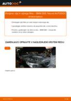 Kako zamenjati avtodel motorna olja in filter na avtu BMW E60 – vodnik menjave