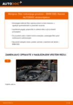 Kako zamenjati avtodel filter notranjega prostora na avtu BMW E60 – vodnik menjave