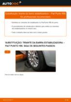 Recomendações do mecânico de automóveis sobre a substituição de FIAT Fiat Punto 188 1.2 16V 80 Tirante da Barra Estabilizadora
