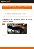 Manual online sobre a substituição de Tubo flexível de admissão, filtro de ar em BMW E81