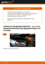 Как се сменя въздушен филтър на Audi A4 B8 – Ръководство за смяна