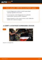 Hátsó gólyaláb-csere BMW E60 gépkocsin – Útmutató