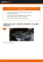 Elülső gólyaláb-csere BMW E60 gépkocsin – Útmutató