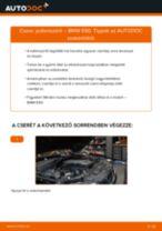 Pollenszűrő-csere BMW E60 gépkocsin – Útmutató
