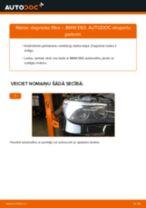 Kā nomainīt: degvielas filtru BMW E60 - nomaiņas ceļvedis