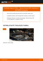 Kaip pakeisti gale ir priekyje Stabdžių trinkelių komplektas Opel Movano Bortinis Sunkvežimis - instrukcijos internetinės