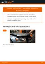 Pasidaryk pats vadovas kaip pakeisti Alyvos filtras AUDI Q5