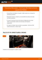 Tutorialul etapizat în format PDF pentru înlocuirea Amortizor la Mercedes X253