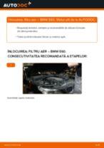Cum să schimbați: filtru aer la BMW E60 | Ghid de înlocuire