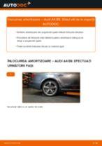 Cum se înlocuiesc și se ajustează Amortizor sport AUDI A4: manual pdf