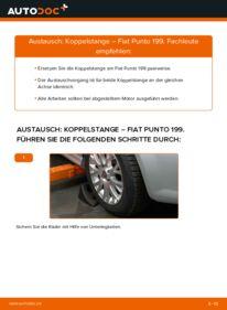 Wie der Wechsel durchführt wird: Koppelstange 1.3 D Multijet Fiat Punto 199 tauschen