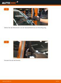 Wie der Wechsel durchführt wird: Scheibenwischer 1.3 D Multijet Fiat Punto 199 tauschen