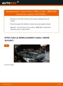 Comment effectuer un remplacement de Filtre à Huile sur 530d 3.0 BMW E60