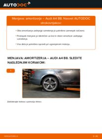 Kako izvesti menjavo: Blazilnik na 2.0 TDI Audi A4 B8 Sedan