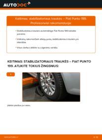 Kaip atlikti keitimą: 1.3 D Multijet Fiat Punto 199 Pasukimo trauklė