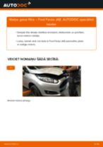 Kā nomainīt: gaisa filtru Ford Fiesta JA8 - nomaiņas ceļvedis