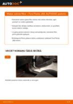 Kā nomainīt: salona gaisa filtru Ford Fiesta JA8 - nomaiņas ceļvedis
