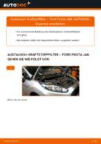 Schritt-für-Schritt-PDF-Tutorial zum Kraftstofffilter-Austausch beim FORD FIESTA VI