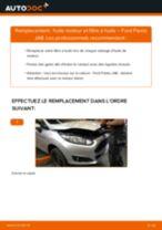 PDF manuel de remplacement: Filtre à huile FORD Fiesta Mk6 3/5 portes (JA8, JR8)