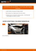Udskift motorolie og filter - Ford Fiesta JA8 | Brugeranvisning