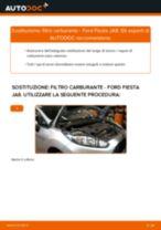 Come cambiare filtro carburante su Ford Fiesta JA8 - Guida alla sostituzione
