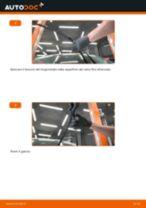 Come cambiare spazzole tergicristallo della parte anteriore su Ford Fiesta JA8 - Guida alla sostituzione