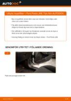 Bilmekanikers rekommendationer om att byta FORD Ford Fiesta Mk5 1.4 16V Oljefilter