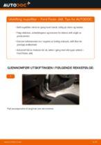 Hvordan bytte Baklykt høyre bak Ford Mondeo b5y - guide online