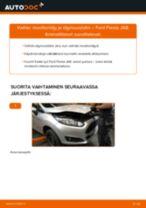 Kuinka vaihtaa moottoriöljy ja öljynsuodatin Ford Fiesta JA8-autoon – vaihto-ohje