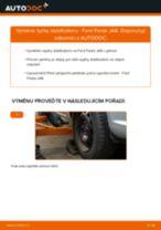 Doporučení od automechaniků k výměně FORD Ford Fiesta Mk5 1.4 16V Zkrutna tyc