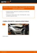 Jak vyměnit vzduchový filtr na Ford Fiesta JA8 – návod k výměně
