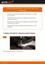 Jak vyměnit kabinovy filtr na Ford Fiesta JA8 – návod k výměně